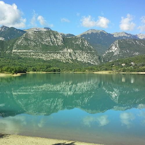 Molise: lago di Castel San Vincenzo