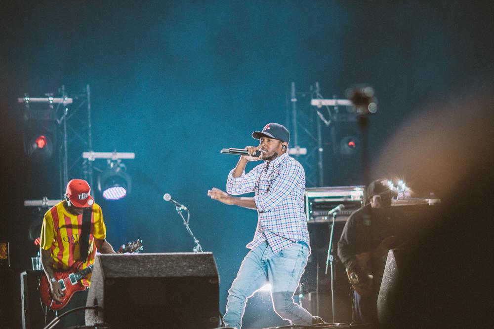 Kendrick Lamar at Primavera Sound 2014