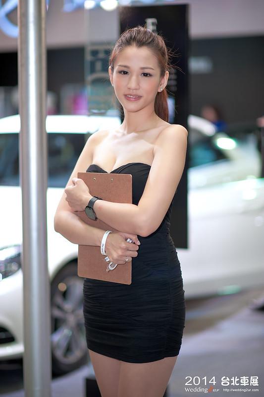 2014台北車展 show girl,35