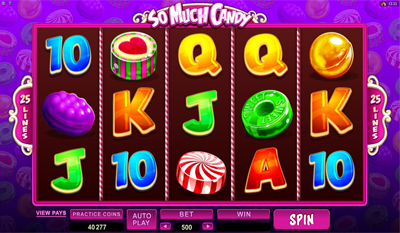 So Much Candy slot game online review