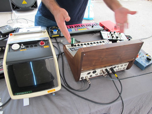 Strange and wonderful retro music makers