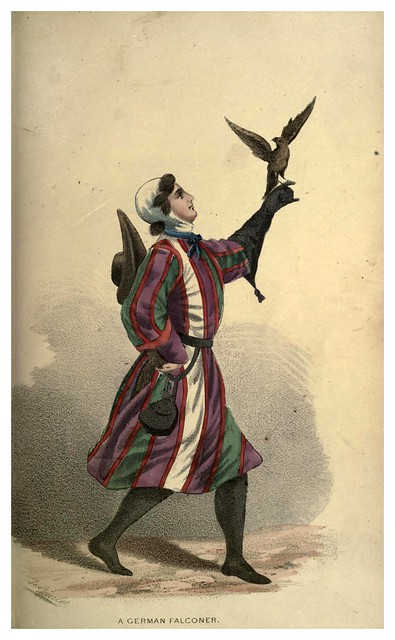 007- Un halconero aleman-Select historical costumes compiled from the most reliable sources -1868