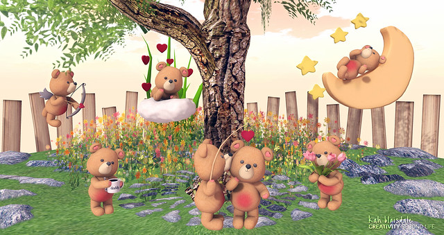 •662 ADORABLE BEARS