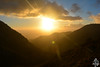 Coucher de soleil sur le Djurdjura