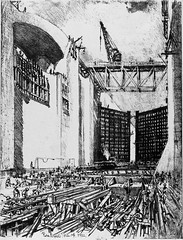 Pennell's 1912 Drawings of Panama Canal