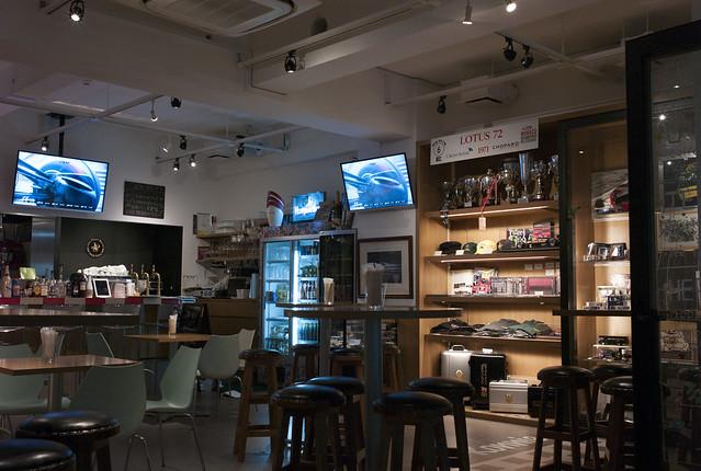 Racers\' Cafe @Ebisu, Tokyo