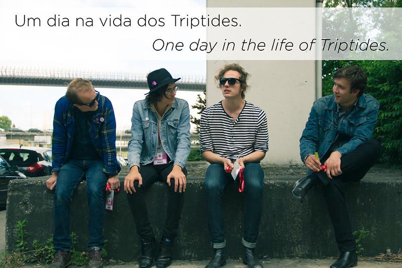 Um dia na vida dos Triptides || One day in the life of Triptides