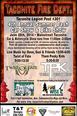 06/28/14 4th Annual Summer Bash/ Car & Bike Show /w/ Twist Of Fate/ Them Pesky Kids @ Main Street, Taconite, MN