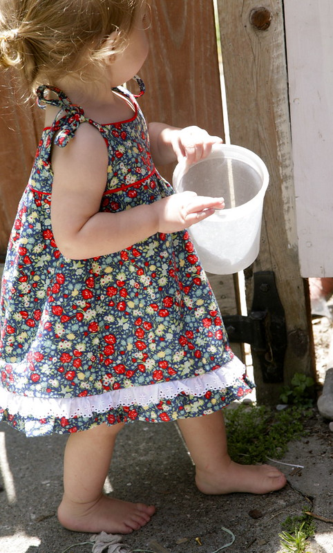 Vintage Simplicity Toddler dress
