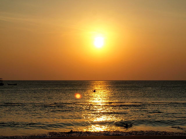Sunset at Sri Lanta Resort, Koh Lanta