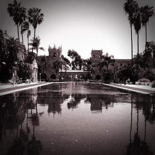 Balboa Park Monokrom