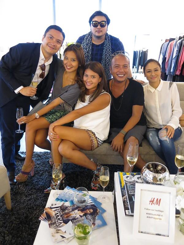 Rogue EIC Paolo Reyes, Rosanna Ocampo-Rodriguez, Juana Yupangco, Sidney Yap, Luis Espiritu and Kelly Misa-Fernandez
