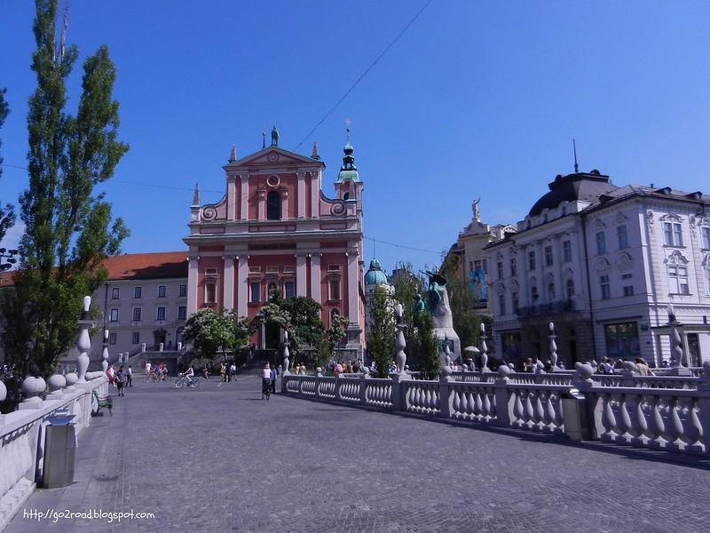 Любляна, Тримостье