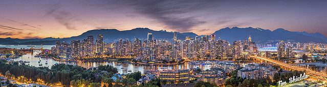 Vancouver is beautiful