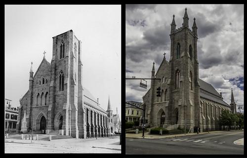 Saint Mary's Roman Catholic Church - Corner of Broadway & Barton streets by Eric Harrison, via I {heart} Rhody