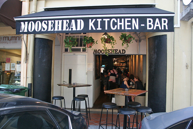 Moosehead Kitchen-Bar is at 110 Telok Ayer Street