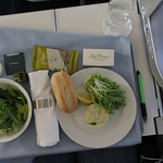 First class meal on the plane to China :-)