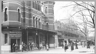 Photograph of the Front of Center Market taken from the Corner of 7th Street and Lousiana Avenue Northwest, 05/23/1914