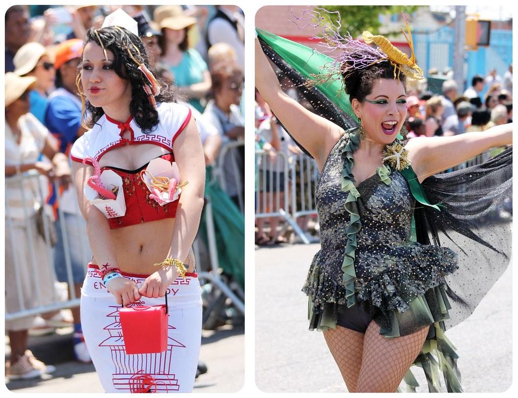 coney island mermaid parade mermaids