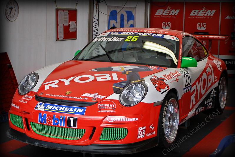 Porsche Carrera Cup 2006 - El descanso de la bestia