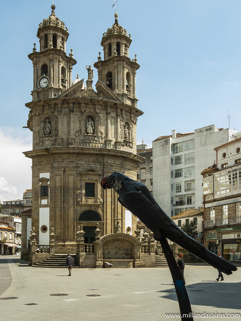 Iglesia de la Virgen Peregrina y el rabachol