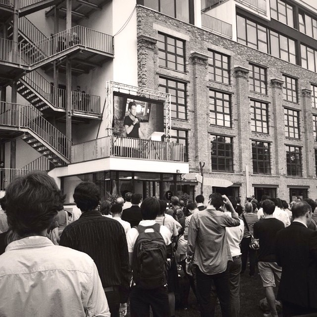 At the #FactoryBerlin opening... a new hub for startups in Berlin + Google and Twitter offices - 14405461115 15e205b2aa o