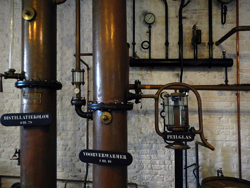the Gin Museum copper still in Hasselt, Belgium