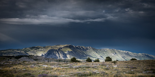sky storm montagne ciel paysage orage caussol