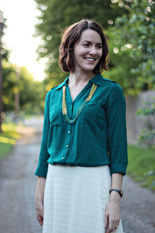 lace-skirt-green-button-down-6