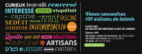 14439817009 35e8a9b095 Molusk au Salon des Metiers dart de Québec 2014