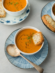 Fish Soup with Gruyere Croutons