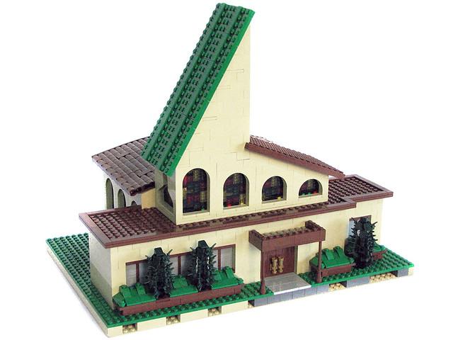 LEGO Springfield - First Church of Springfield