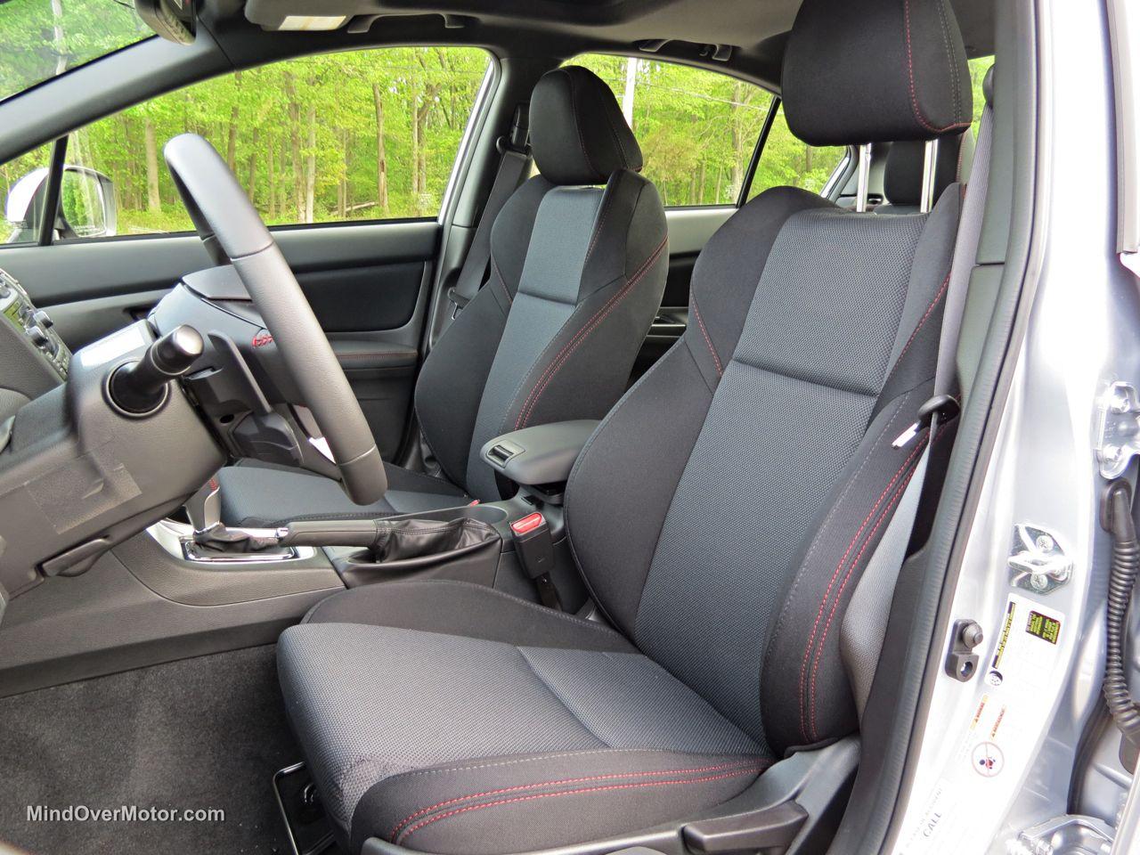 2015 Subaru WRX Front Seats