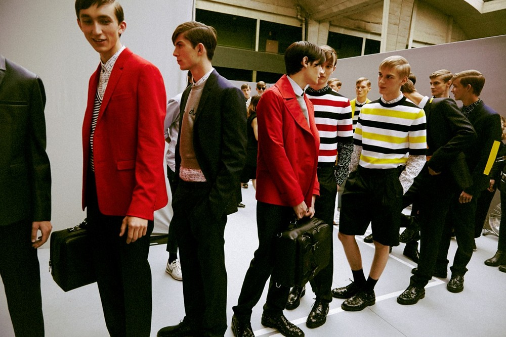 Dominik Sadoch3177_SS15 Paris Dior Homme_Michael Bernasiak, Matthieu Gregoire, Timur Simakov, Dominik Hahn(dazeddigital.com)