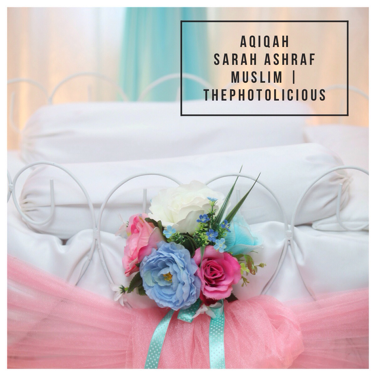 Gambar Majlis Aqiqah Ashraf Muslim