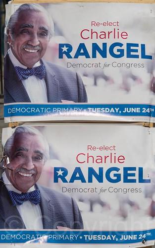 Charlie Rangel, U.S. Congress 2014 Democratic Primary for New York's 13th Congressional District, Harlem, New York City