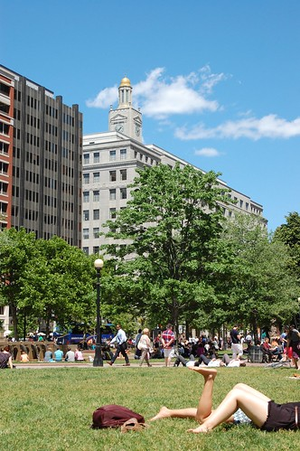 Copley Square in Summer