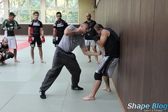 hapkido(0.0), martial arts(0.0), contact sport(1.0), sports(1.0), combat sport(1.0), strike(1.0), punch(1.0),