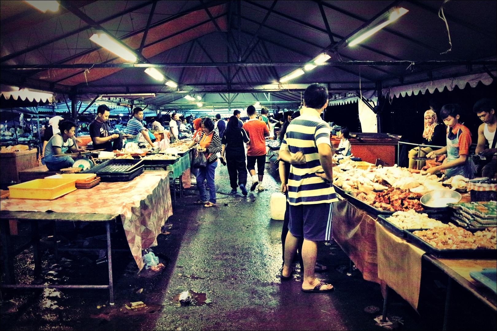 필리피노 마켓-'코타키나발루 둘러보기 Sightseeing Kota Kinabalu '