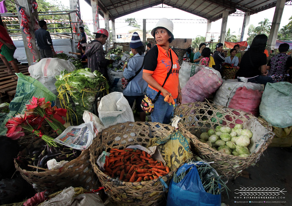 Dalaguete Cebu Mantalongon bagsakan vegetables