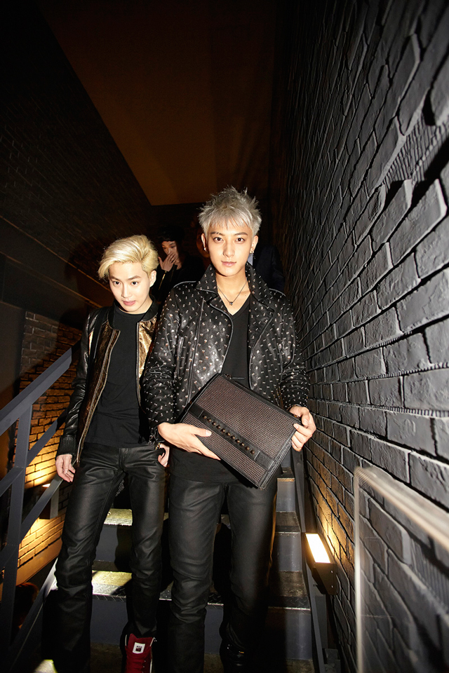 EXO-Tao-with-MCM-Punk-project-clutch