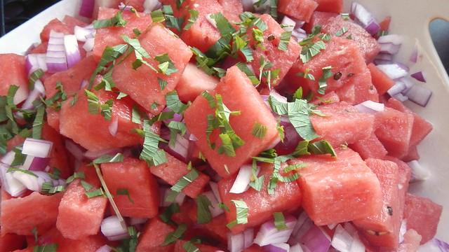 Watermelon Salad 8