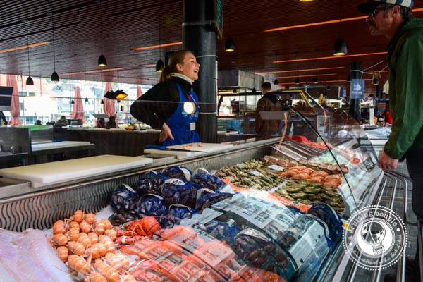 Fish Market in Bergen, Norway