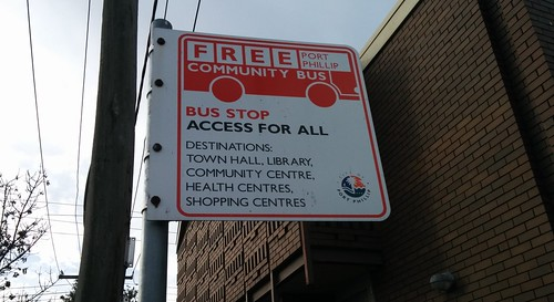 Port Phillip Community Bus Stop