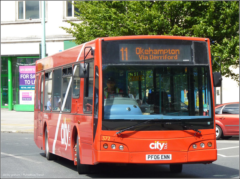 Plymouth Citybus 372 10 July 2014