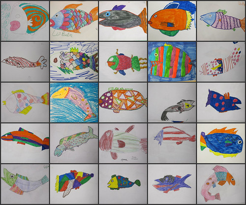 Z Fish Collage