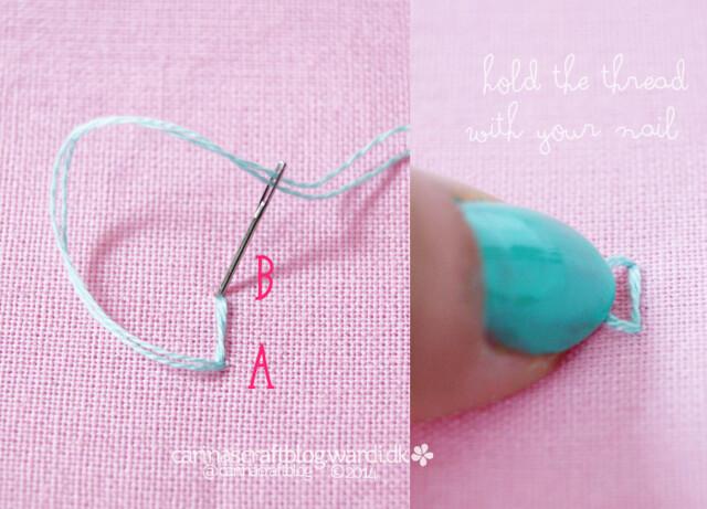 Granito stitch tutorial