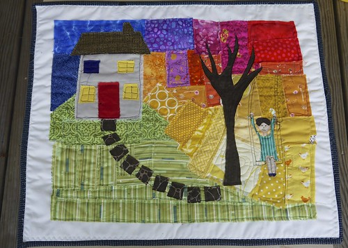 House Tree Person Quilt