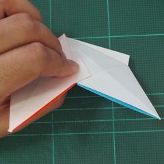 วิธีพับกระดาษเป็นถาดใส่ขนมรูปดาวแปดแฉก (Origami Eight Point Star Candy Tray) 019