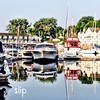 July 22/14 - slip {lots of boats in their slip in Picton Harbour}#photoaday #picton #harbour #boats #sailboats #reflection #littlemomentsapp #morning